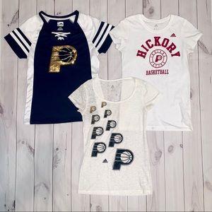 ♡Indiana Pacers Hickory Shirt Set ♡